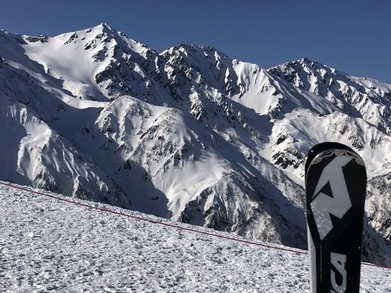 白馬三山の絶景!|白馬八方尾根スキー場のクチコミ画像