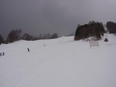 やや混雑していたかな。|信州松本 野麦峠スキー場のクチコミ画像