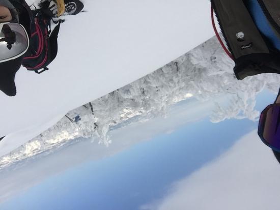 絶景。|六日町八海山スキー場のクチコミ画像2
