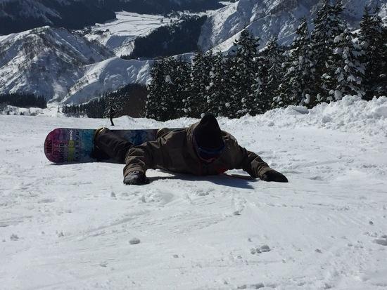 絶景。|六日町八海山スキー場のクチコミ画像3