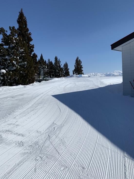 降った翌日はいい感じです 上越国際スキー場のクチコミ画像