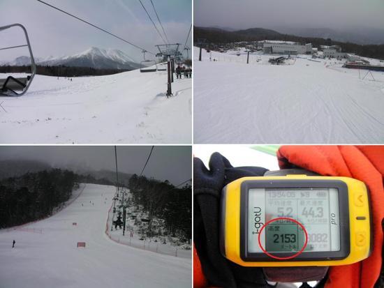 極寒 開田高原マイア 120115|開田高原マイアスキー場のクチコミ画像