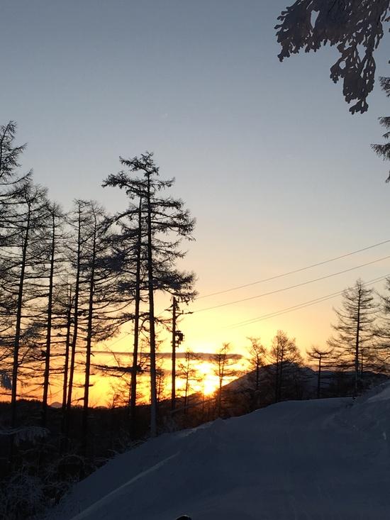 早朝トレーニング|菅平パインビークスキー場のクチコミ画像