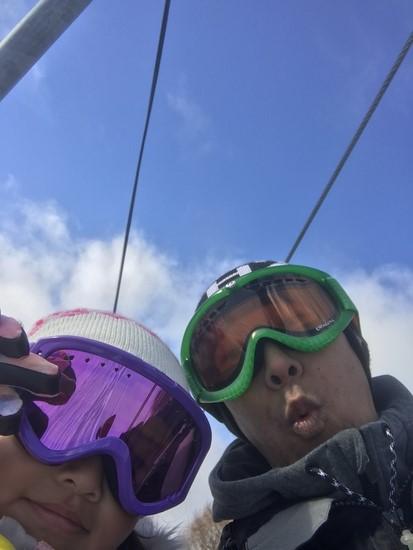 晴天!雪質!最高!|水上宝台樹スキー場のクチコミ画像