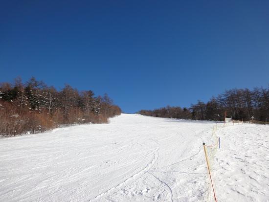 初心者の練習にGOOD|湯の丸スキー場のクチコミ画像