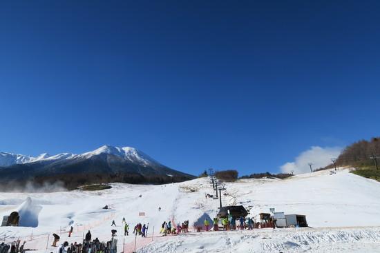 初滑り! 厳冬?|開田高原マイアスキー場のクチコミ画像