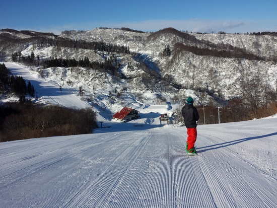 今日の雪質について 上越国際スキー場のクチコミ画像