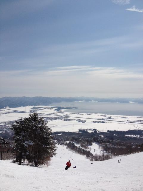 景色も素晴らしいスキー場★|猪苗代スキー場[中央×ミネロ]のクチコミ画像