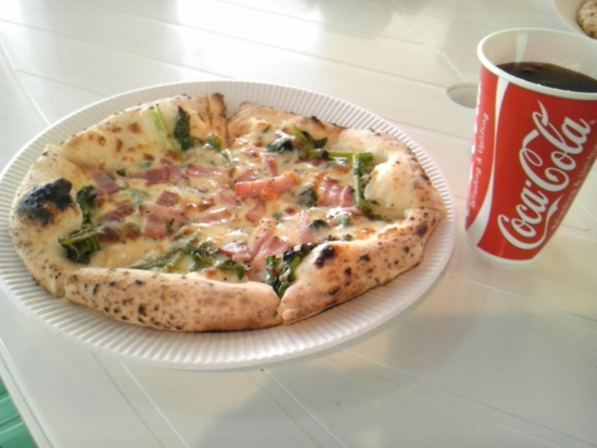 LUGANOのピザ|ひるがの高原スキー場のクチコミ画像