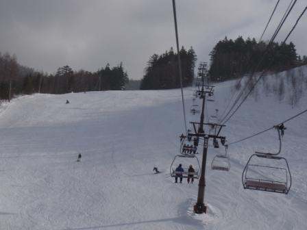 曇りのち薄日|信州松本 野麦峠スキー場のクチコミ画像