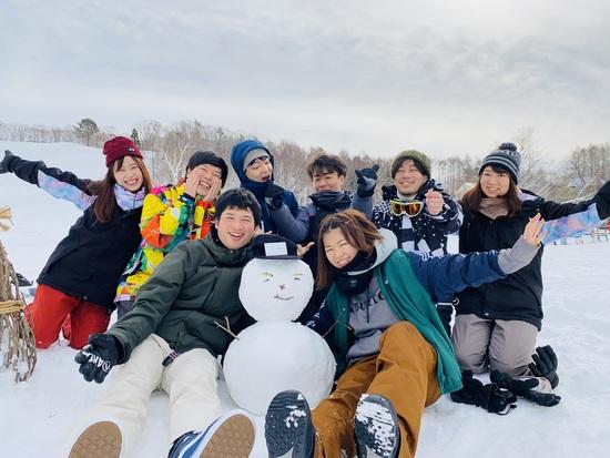 雪だるま作ろう♪|水上高原・奥利根温泉 藤原スキー場のクチコミ画像1