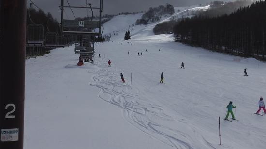 例年通りの2コースでオープン|しらかば2in1スキー場のクチコミ画像