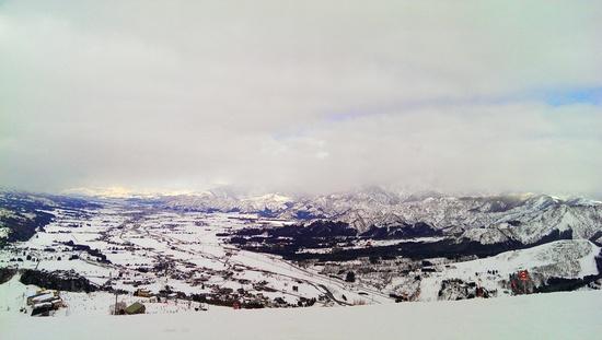 コースが広い。|石打丸山スキー場のクチコミ画像