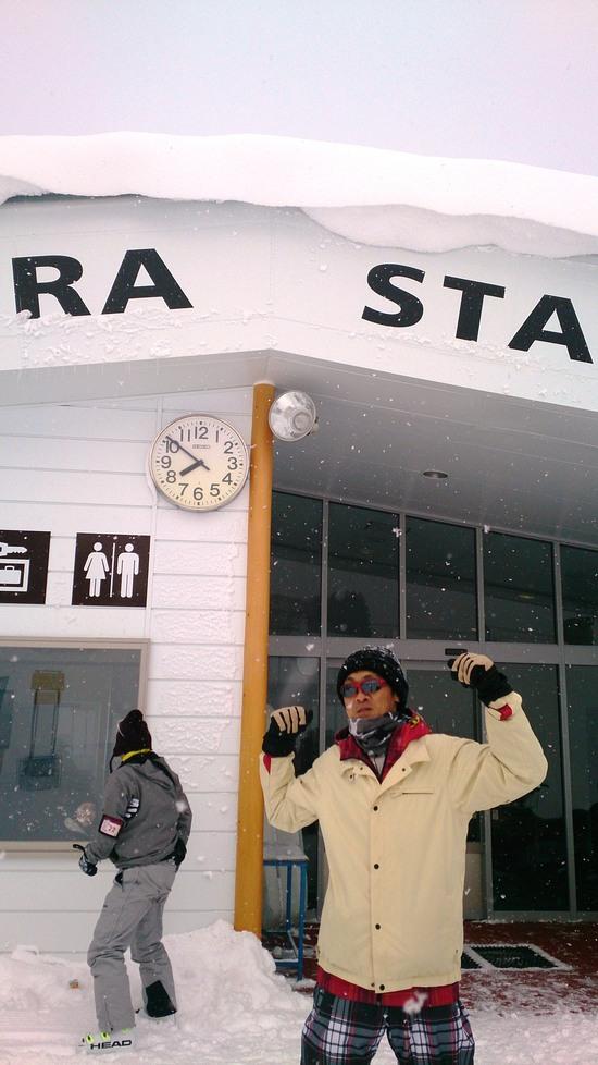 初老デビュー!|野沢温泉スキー場のクチコミ画像