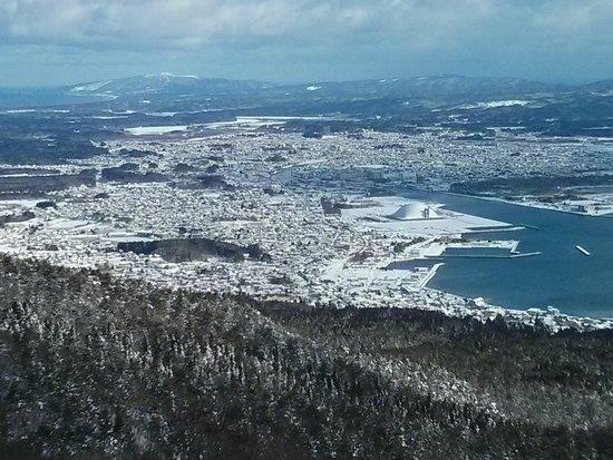 景色バツグンです|むつ市釜臥山スキー場のクチコミ画像