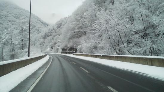 待望の雪|信州松本 野麦峠スキー場のクチコミ画像