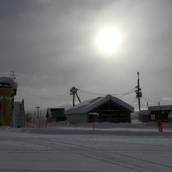 雪が降っててパウダー|高鷲スノーパークのクチコミ画像