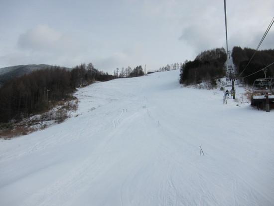 今日の野麦峠の様子(1/15 日)|信州松本 野麦峠スキー場のクチコミ画像