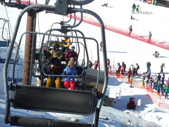 孫のスキー初挑戦|軽井沢スノーパークのクチコミ画像1