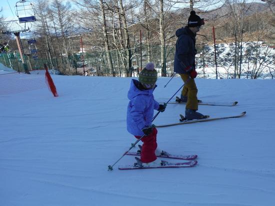 孫のスキー初挑戦|軽井沢スノーパークのクチコミ画像2