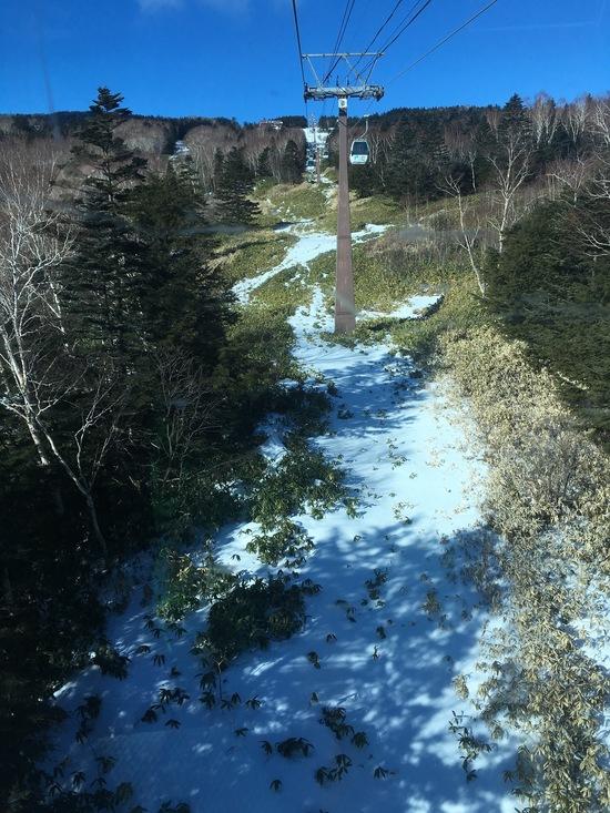 雪少ない!|パルコールつま恋スキーリゾートのクチコミ画像1