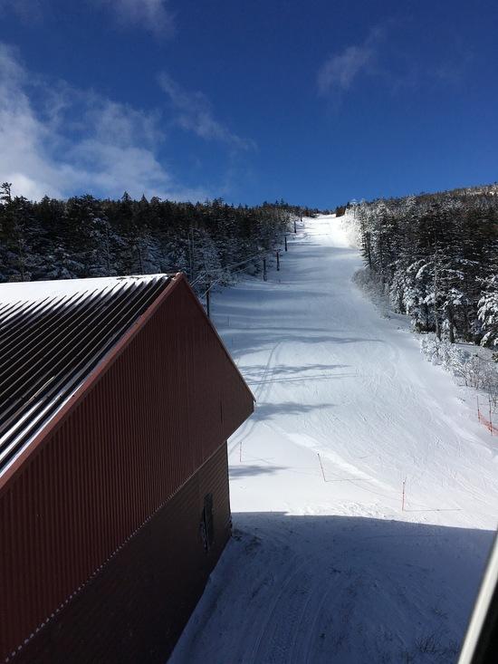 雪少ない! パルコールつま恋スキーリゾートのクチコミ画像2