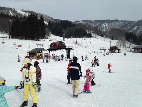 ゲレンデ状態良好です。|さかえ倶楽部スキー場のクチコミ画像1