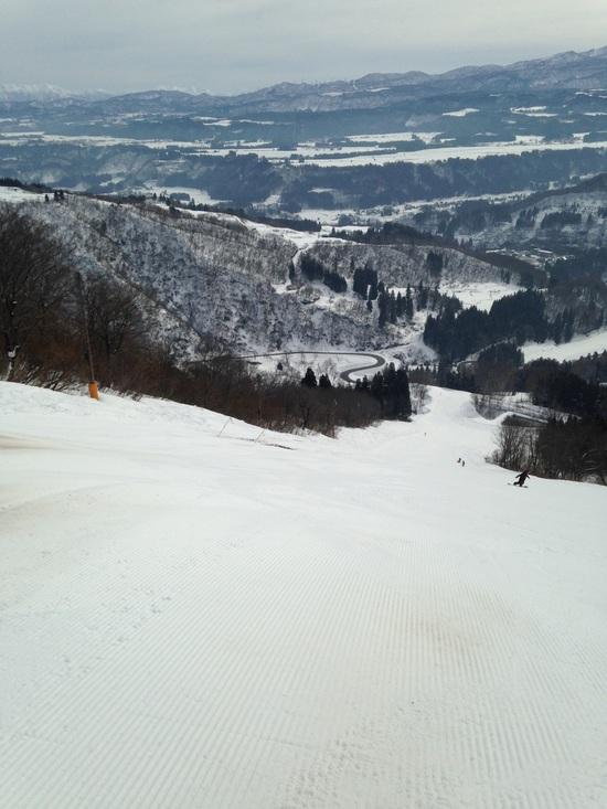 ゲレンデ状態良好です。|さかえ倶楽部スキー場のクチコミ画像3