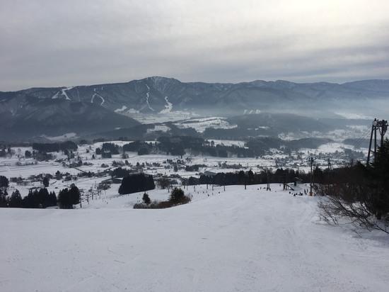 ガリ雪のち新雪|戸狩温泉スキー場のクチコミ画像