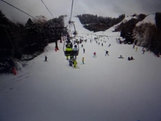 初滑り|志賀高原 熊の湯スキー場のクチコミ画像