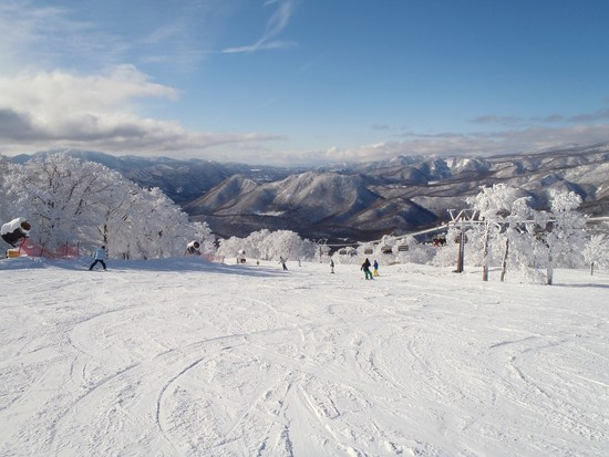 箕輪は最高のスキー日和り|箕輪スキー場のクチコミ画像
