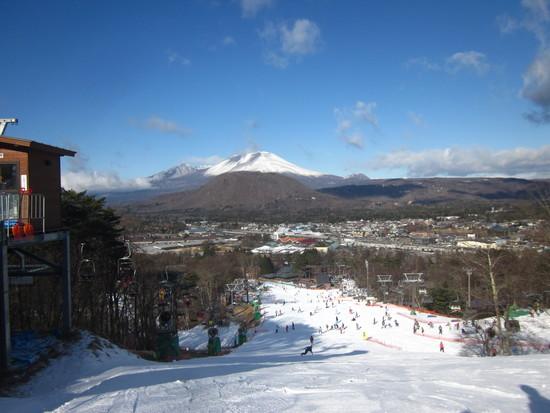 気持ちよくシーズン初滑り|軽井沢プリンスホテルスキー場のクチコミ画像