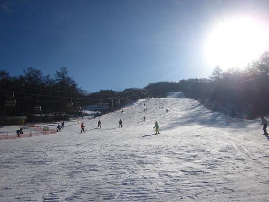 気持ちよくシーズン初滑り|軽井沢プリンスホテルスキー場のクチコミ画像2