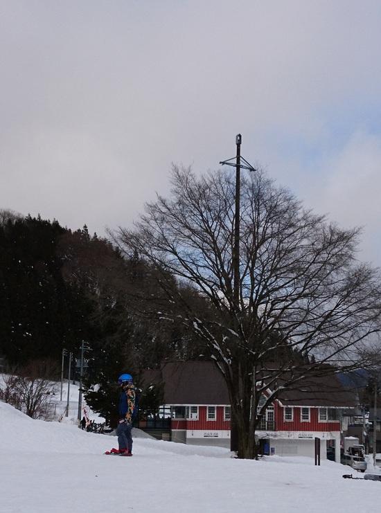 のどかな地元スキー場の風情|HAKUBAVALLEY 鹿島槍スキー場のクチコミ画像