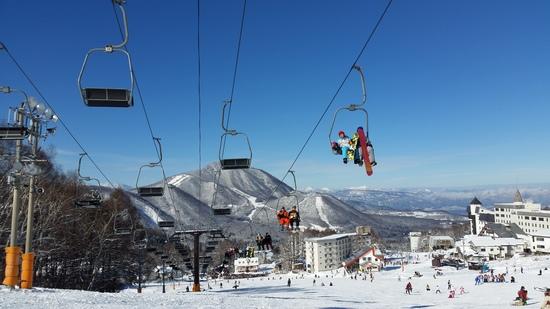 リフト30分待ち。ほとんどのリフト休業|竜王スキーパークのクチコミ画像