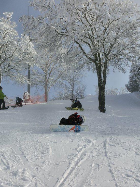 今シーズン初の立山山麓スキー場!|立山山麓スキー場のクチコミ画像