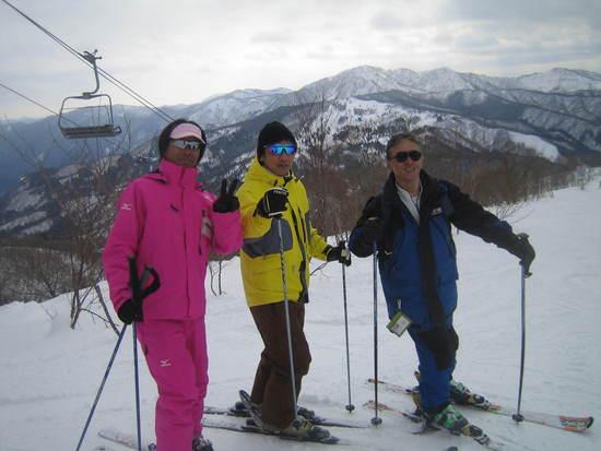 オフ会スキーでレッスン!|ウイングヒルズ白鳥リゾートのクチコミ画像