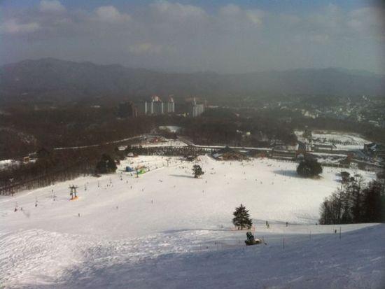 今日から土日の駐車場代が無料&wi-fiスポット 草津温泉スキー場のクチコミ画像