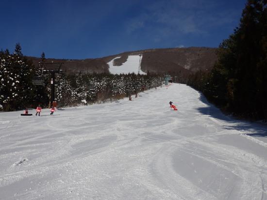 広くて長いコースが多い 猪苗代スキー場[中央×ミネロ]のクチコミ画像