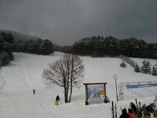 関東大雪で空いている、猪苗代スキー場 猪苗代スキー場[中央×ミネロ]のクチコミ画像1