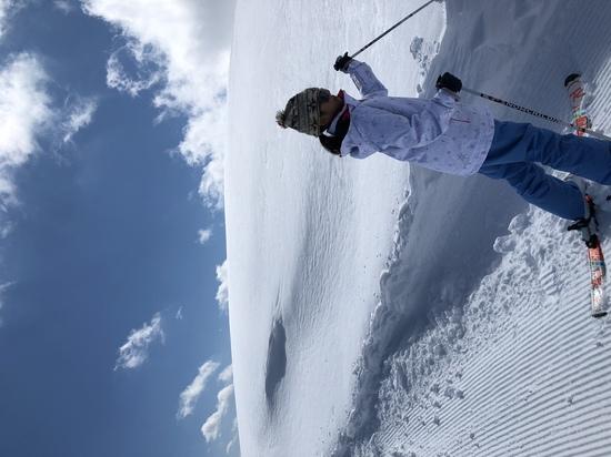 またまだ新雪!|かぐらスキー場のクチコミ画像