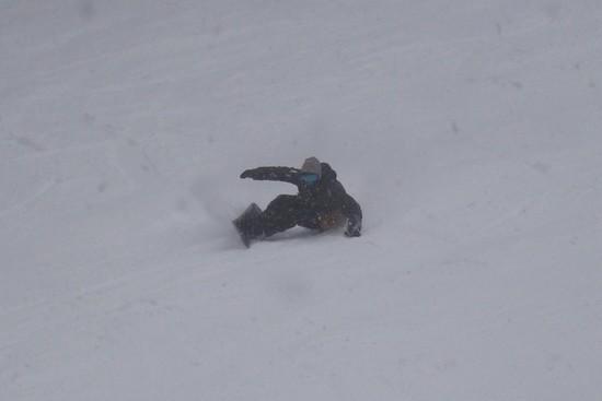 トレバンは石多め。|信州松本 野麦峠スキー場のクチコミ画像