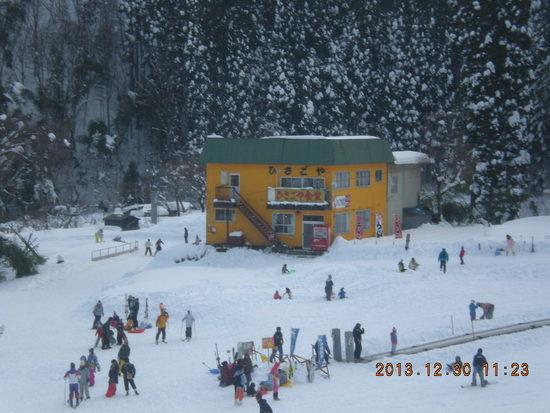 神鍋高原今シーズン初スキー|奥神鍋スキー場のクチコミ画像3