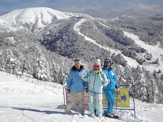 最高の雪質と景色でした|万座温泉スキー場のクチコミ画像