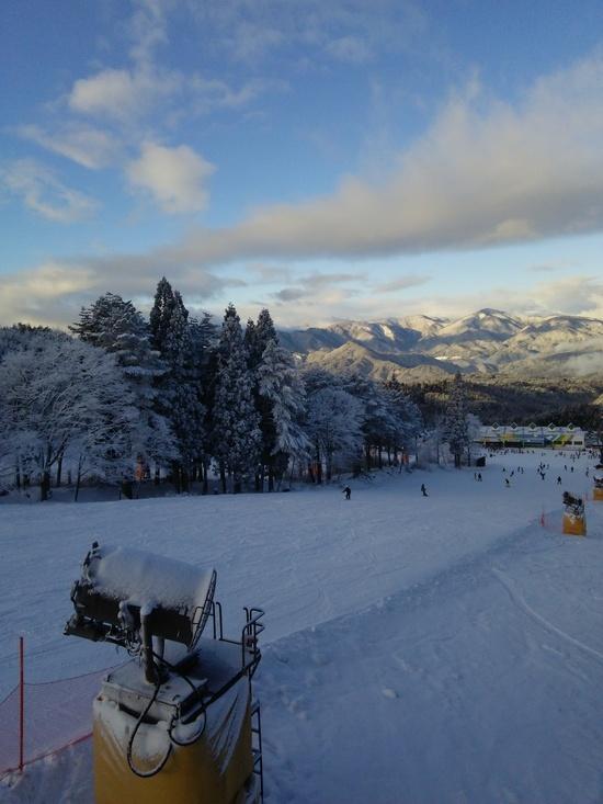 雪が足りない|鷲ヶ岳スキー場のクチコミ画像