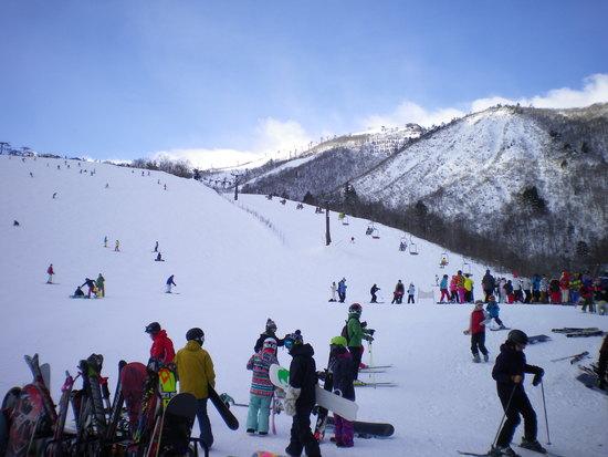 今年の滑り納め|白馬八方尾根スキー場のクチコミ画像