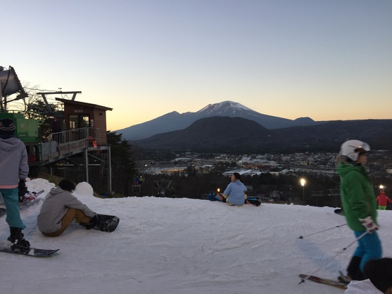 人工雪でしたが楽しめました!|軽井沢プリンスホテルスキー場のクチコミ画像