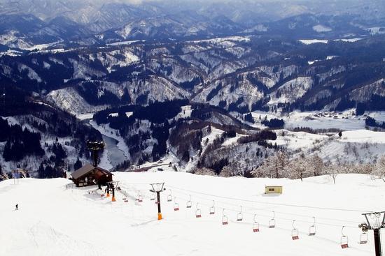 非圧雪。|さかえ倶楽部スキー場のクチコミ画像2