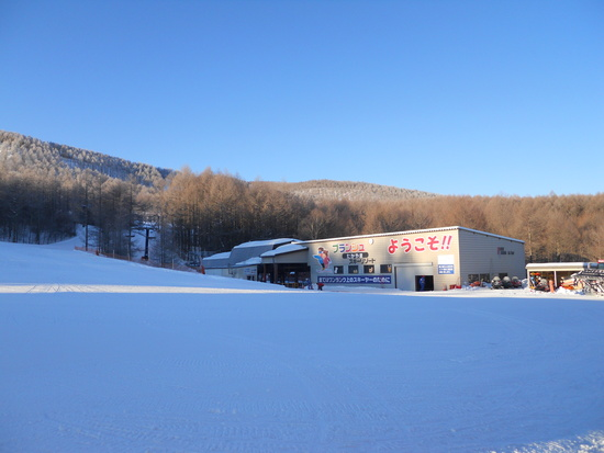 やわらか~い雪|ブランシュたかやまスキーリゾートのクチコミ画像