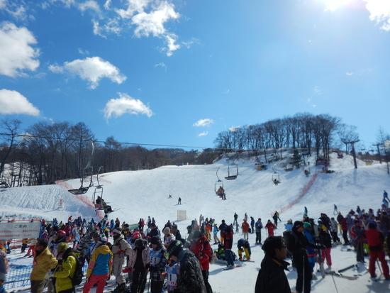 横長のスキー場|軽井沢プリンスホテルスキー場のクチコミ画像